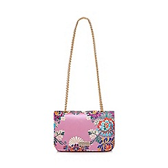 Faith - Multi-coloured 'Plum' cross body bag