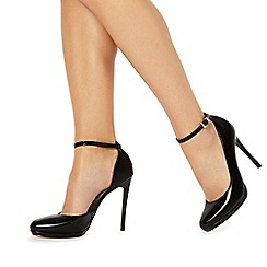 Faith - Black 'Cruella' high stiletto heel court shoes
