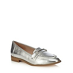 Faith - Silver 'Adele' loafers