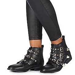 Faith - Black 'Bentley' ankle boots