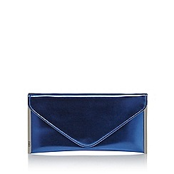 Faith - Blue 'Promise' clutch bag