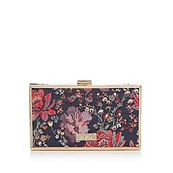 Faith - Multi-coloured 'Piper' clutch bag