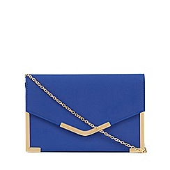 Call It Spring - Navy 'Galalenna' clutch bag