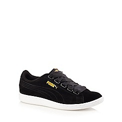 Puma - Black vikky ribbon shoes