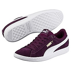 Puma - Dark purple vikky shoes