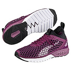 Puma - Dark purple ignite dual netfit wns trainers
