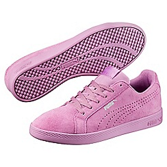 Puma - Light pink smash wns perf sd trainers