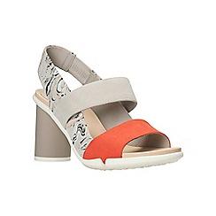 Clarks - Light grey combi 'imali jasmine' sandals