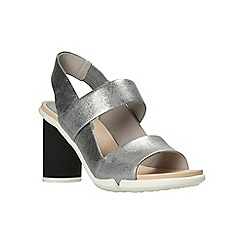 Clarks - Silver metallic 'imali jasmine' sandals