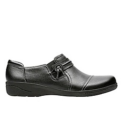 Clarks - Black 'Cheyn Madi' shoes