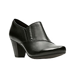 Clarks - Black 'Garnit Colette' shoes