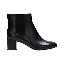 Clarks - Black leather 'orabella anna' ankle boots