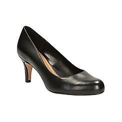 Clarks - Black 'Arista abe' shoes