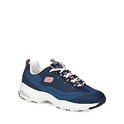 Skechers - Navy 'D'Lite Ultra' trainers
