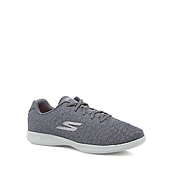 Skechers - Dark grey 'Go Step Lite Radian' trainers