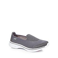 Skechers - Dark grey 'Pursuit' slip-on trainers