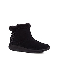 Skechers - Black suede 'On The Go City 2' ankle boots