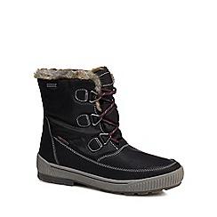 Skechers - Black 'Woodland' snow boots