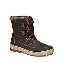 Skechers - Dark brown 'Woodland' snow boots