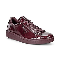 ECCO - Red soft 4 sneakers