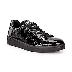 ECCO - Black soft 4 sneakers