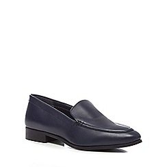 J by Jasper Conran - Navy 'Jalexa' leather loafers