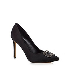 J by Jasper Conran - Black 'Jessie' high stiletto heel court shoes