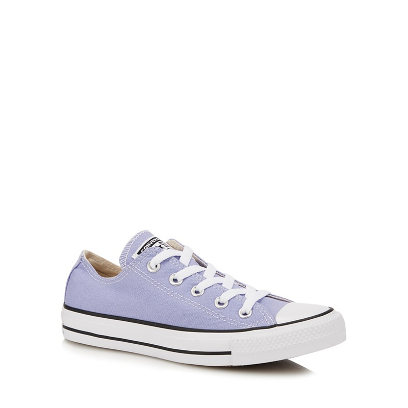 CONVERSE | Converse - Light Purple Canvas 'Chuck Taylor All Star' Trainers | Goxip