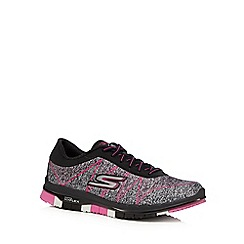 Skechers - Black 'Go Flex Ability' trainers