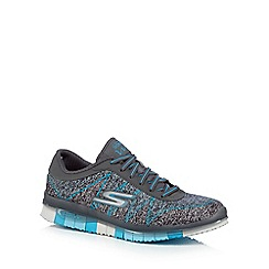 Skechers - Blue 'SKX ¬ Go Flex Ability' trainers