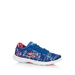 Skechers - Blue 'Go Step - One Off' trainers
