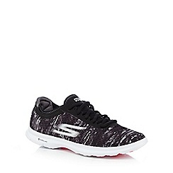 Skechers - Black 'Go Step - One Off' trainers