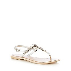 Faith - Silver 'Jazzy' sandals