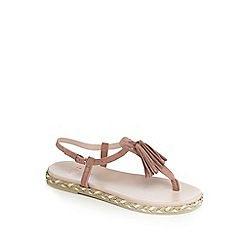 Faith - Pink 'Jackie' flat sandals