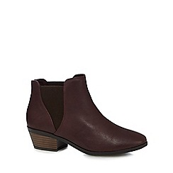 Call It Spring - Purple 'Moillan' boots