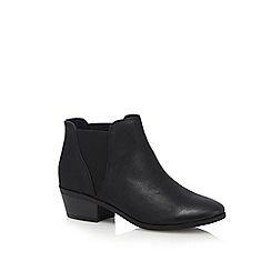 Call It Spring - Black 'Moillan' low Chelsea boots
