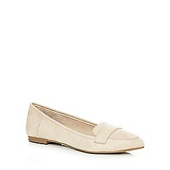 Call It Spring - Cream 'Onelle Letampon' loafers