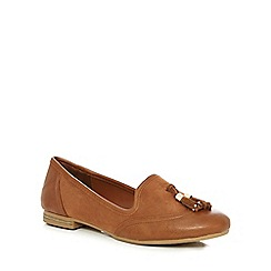 Call It Spring - Tan 'Palani' flat shoes