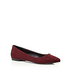 Call It Spring - Dark purple 'Troawen' flat shoes