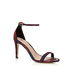 Call It Spring - Red 'Liraniel' high sandals