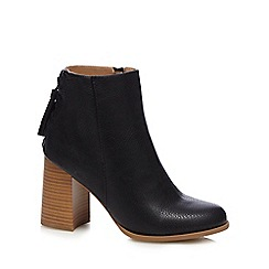 Call It Spring - Black 'Tralessa' high block heel ankle boots