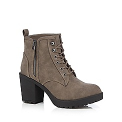 Call It Spring - Grey 'Mesien' high ankle boots