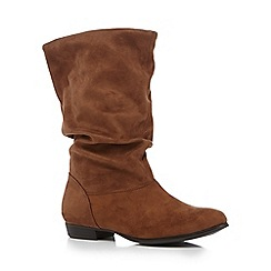 Call It Spring - Brown 'Gogali' mid calf boots