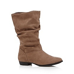 Call It Spring - Light brown 'Gogali' mid calf boots