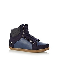 Call It Spring - Navy 'Wewien' high tops