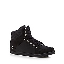 Call It Spring - Black 'Wewien' high-top trainers