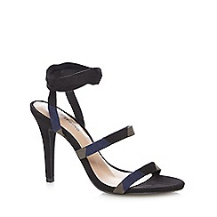 Call It Spring - Navy 'Kedilawen' high lace up sandals