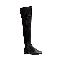 Call It Spring - Black 'Haaesa' over the knee boots