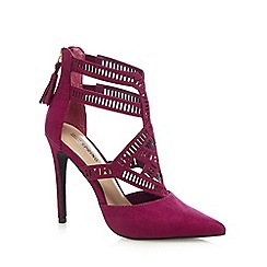 Call It Spring - Purple 'Adoeni' high stlietto heel pointed shoes