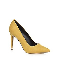 Call It Spring - Yellow 'Nusa' high stiletto heel pointed shoes